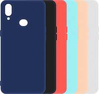 Матовый Чехол Samsung Galaxy A10s A107 (силиконовая накладка) (Самсунг Галакси А10С)