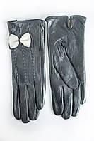 Женские кожаные перчатки Кролик Средние 2-372s2, фото 1