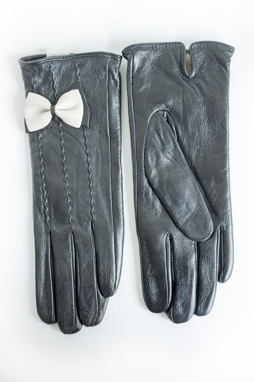 Женские кожаные перчатки Кролик Средние 2-372s2