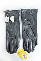 Женские кожаные перчатки ВЯЗКА СЕНСОРНЫЕ Средние WP-161493s2, фото 1