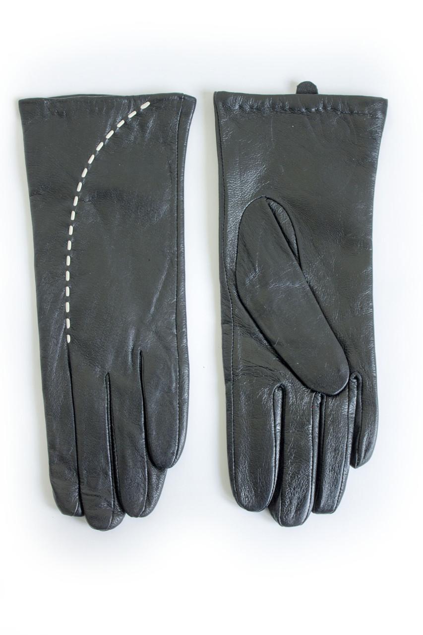 Женские кожаные перчатки ВЯЗКА Большие W22-160111s3