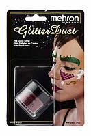 MEHRON Рассыпчатые блестки Glitter Dust, Dynamite Red (Красный), 7 г, фото 1