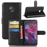 Чехол-книжка Litchie Wallet для Motorola Moto X4 XT1900 Черный
