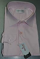 Светло-розовая мужская рубашка FERRERO GIZZI (все размеры от 39 до 46)