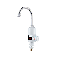 Проточний водонагрівач Holmer HHW-101 3 кВт, до +60 град,з LED дисплеєм HHW-102