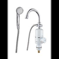 Проточний водонагрівач Holmer HHW-103SH 3 кВт, до +60 град,з душем HHW-103SH