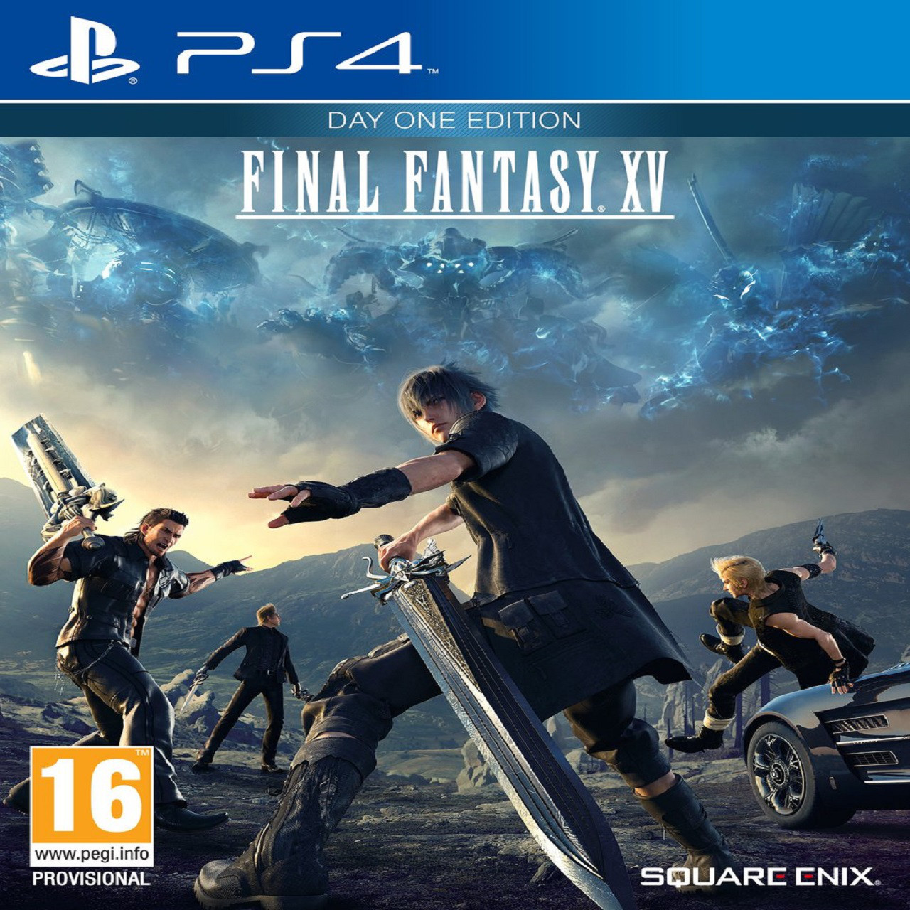 Final Fantasy XV SUB PS4 (Б/В)