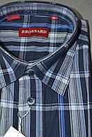Рубашка с коротким рукавом 100% хлопок (размер 39.40.41.42)