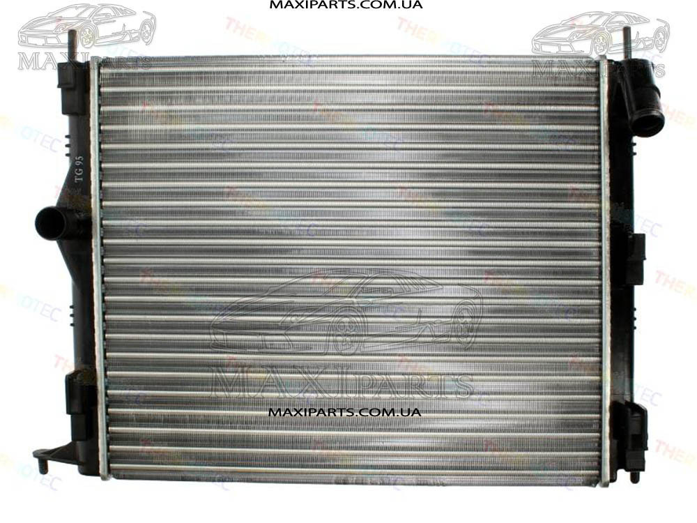 Радиатор охлаждения DACIA LOGAN, LOGAN EXPRESS, LOGAN MCV, SANDERO/ RENAULT LOGAN I 1.4-1.6LPG 09.04-
