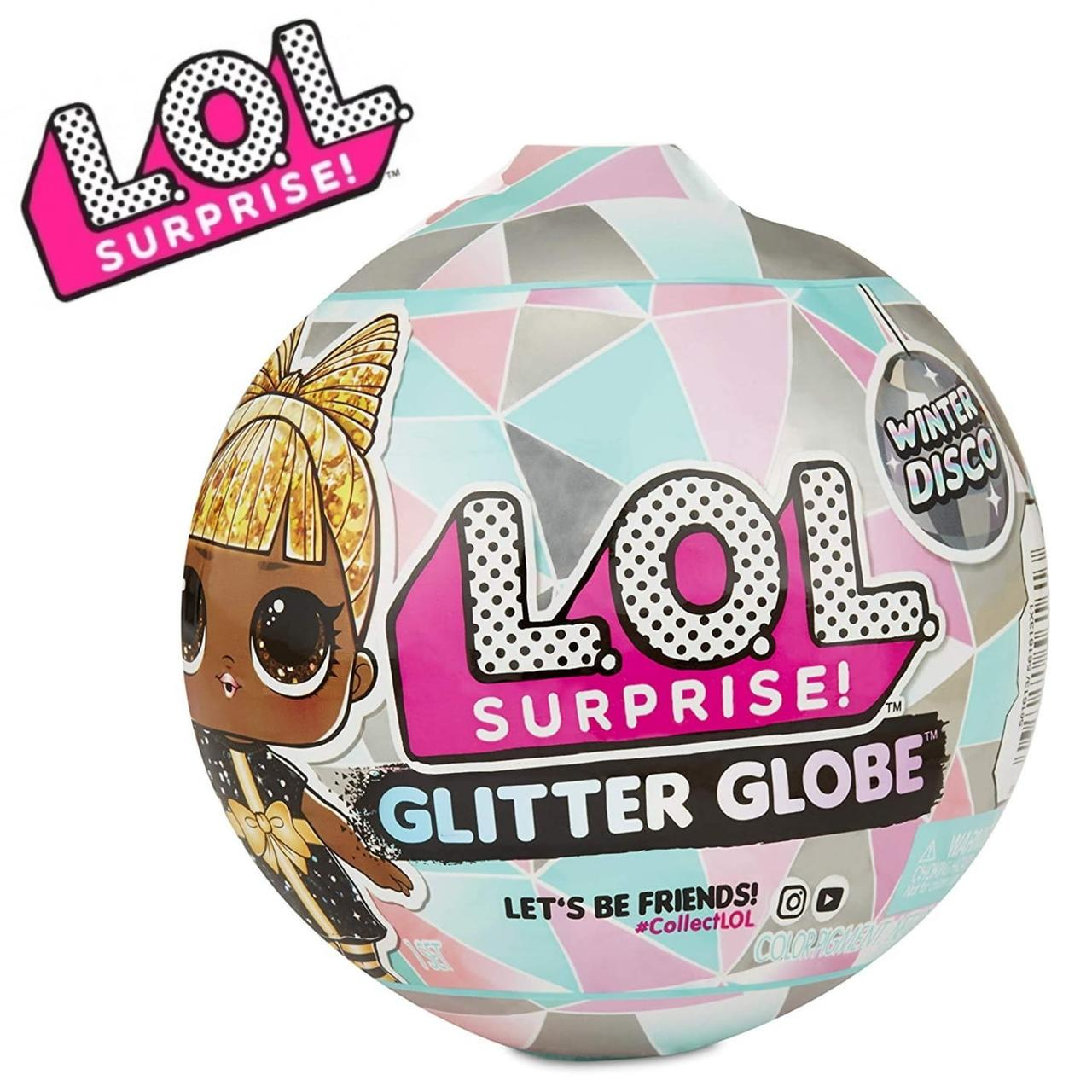 Кукла ЛОЛ Блестящий Шар Винтер Диско L.O.L. Surprise! Glitter Globe Winter Disco