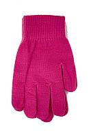 Женские трикотажные перчатки вязаные 5067-4 розовый