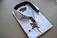 Модная приталенная молодежная рубашка SIGMEN (размер S.M.L.XL)