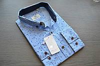 Модная приталенная молодежная рубашка TURK STAR (размер S.M.L.XL.XXL)