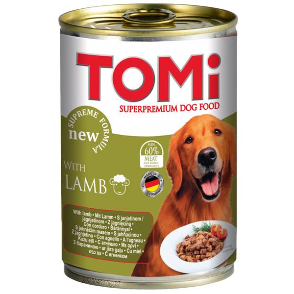 Консервы для собак с ягненком Томи TOMi lamb 400 г
