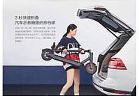 Электрический самокат Xiaomi Mi Electric Scooter Pro Black DDHBC02NEB 8.5'' 300 Вт, фото 4
