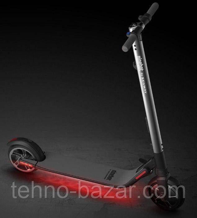 Электрический самокат Xiaomi Ninebot KickScooter ES2 Black 300 Вт 5200 мАч