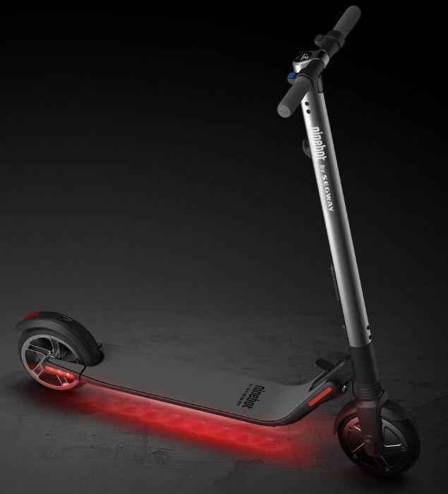 Електричний самокат Xiaomi Ninebot KickScooter ES2 Black 300 Вт 5200 маг