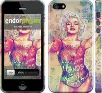 "Чехол на iPhone 5s Swag. Marilyn ""1205c-21"""