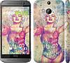 "Чехол на HTC One M8 Swag. Marilyn ""1205c-30"""