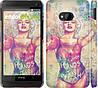 "Чехол на HTC One M7 Swag. Marilyn ""1205c-36"""