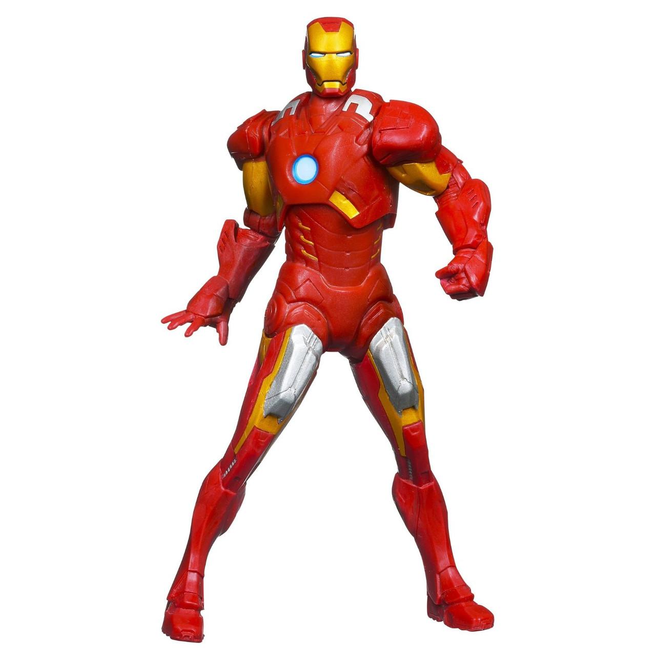 Фигурка Марвел Железный человек (Marvel The Avengers Mighty Battlers Repulsor Battling Iron Man)