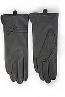 Женские кожаные перчатки ВЯЗКА СЕНСОРНЫЕ Маленькие 2-377s1