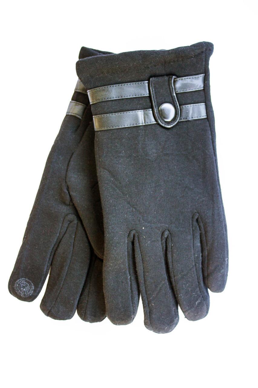 Мужские зимние перчатки + кролик  Сенсорные Средние