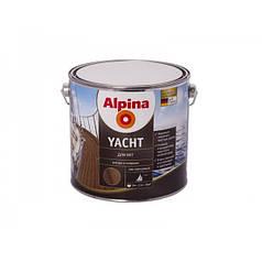 Лак яхтный Alpina yachtlack глянцевый 2,5л