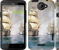 "Чехол на HTC One X+ Айвазовский. Корабли ""160c-69"""