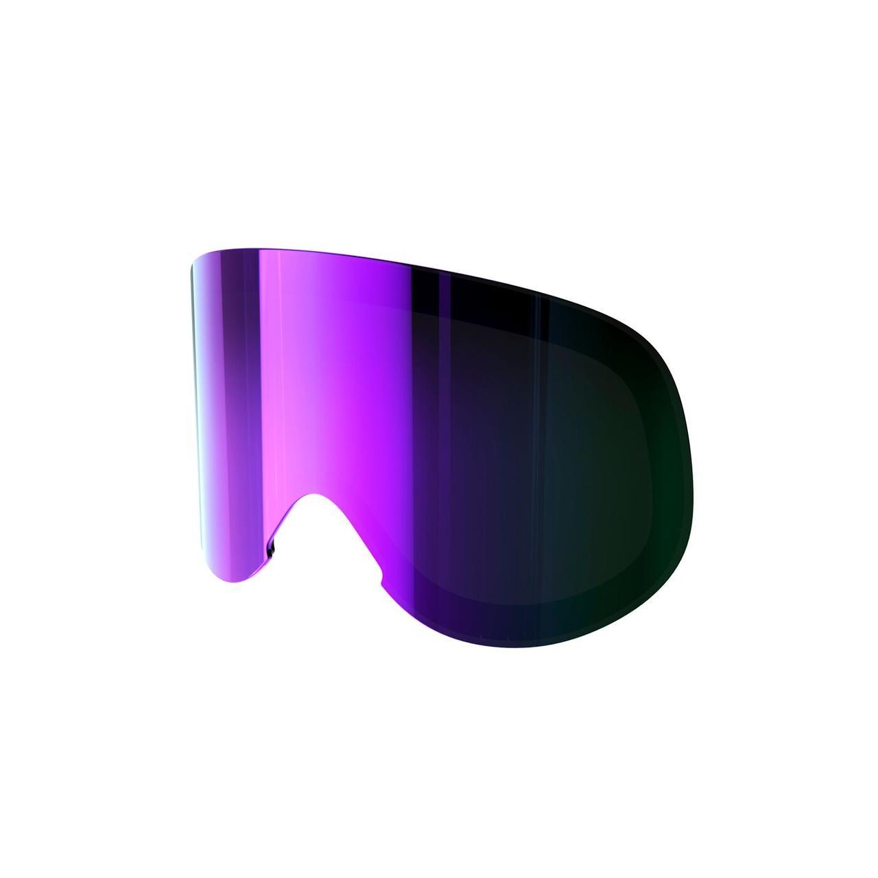 Cменная линза POC Lid Spare Lens Grey/Purple Mirror