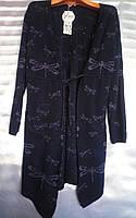 Кардиган со стрекозами женский (ПОШТУЧНО), фото 1