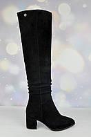 Зимние женские сапоги Mea Balan на маленьком каблуке