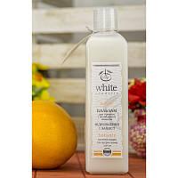 """Бальзам Цитрус """"White Mandarin"""" для тонких и ослабленных волос."""