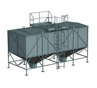 Склад топлива для пеллет СТ-30, 30 куб.м/19,5 т