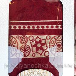 Набір рушників  банний+ обличчя  виробництва Узбекістан.👍
