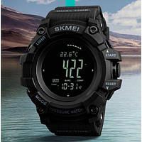 Мужские наручные часы Skmei Processor с шагомером и барометром