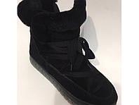 Зимние кожаные ботинки на натуральном меху, фото 1