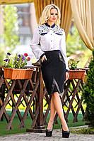 """Стильная черная юбка-карандаш """"Dress Code"""""""