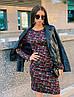 Стильное платье, ткань: трикотаж модал. Размер: С(42-44)М(44-46). Разные цвета. (1214), фото 7