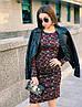 Стильное платье, ткань: трикотаж модал. Размер: С(42-44)М(44-46). Разные цвета. (1214), фото 9