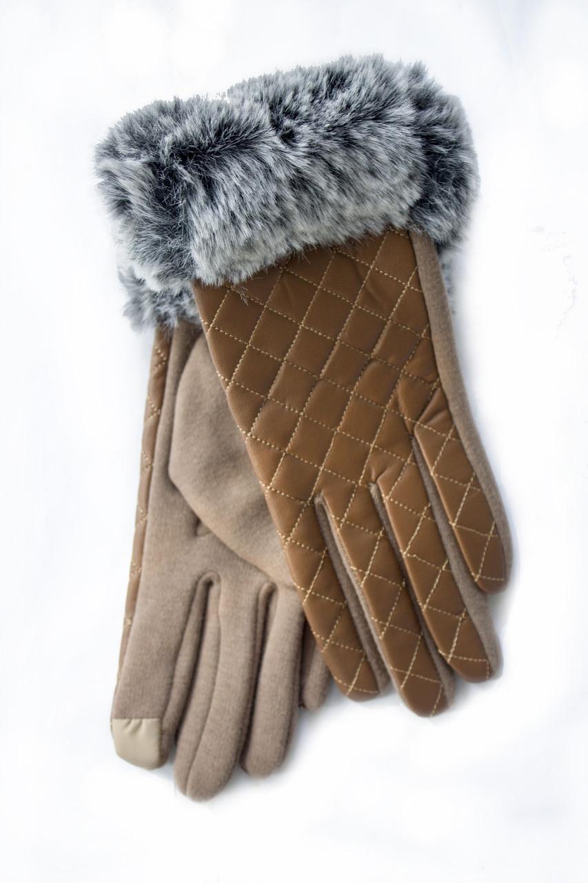 Женские перчатки Сенсорные Средние