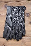 Женские кожаные сенсорные перчатки 947s2, фото 1