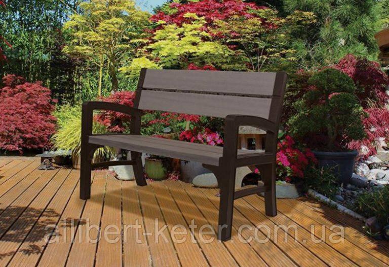 Набор садовой мебели Montero 2 Seater Bench из искусственного ротанга