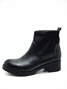 Женские ботинки осень весна из натуральной кожи 40 размер
