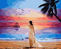 "Картина по номерам. Brushme ""Тропический рассвет"" GX29454"