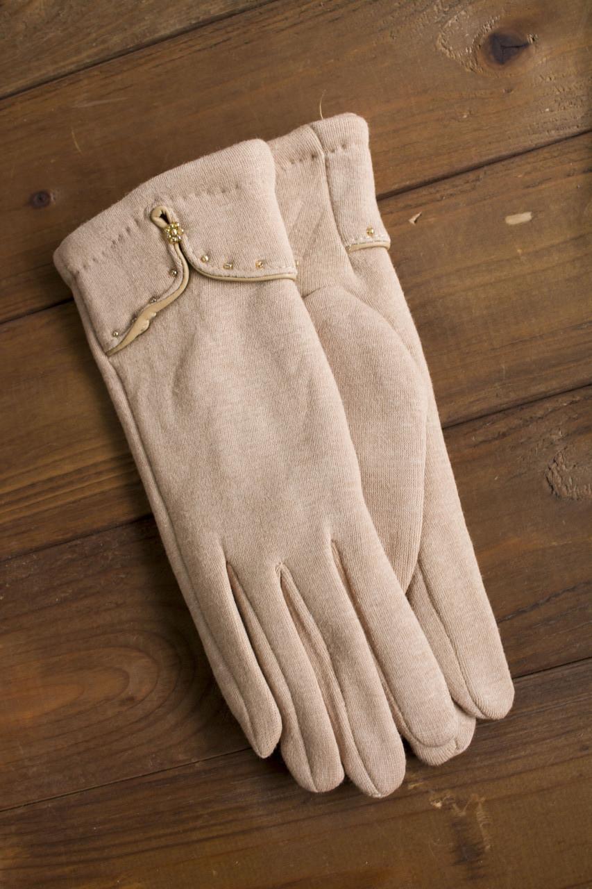 Женские стрейчевые перчатки большие 114S3