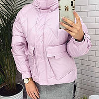 Куртка зимняя женская(холофайбер) 649, фото 1