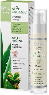Дневной крем для лица с алое вера 50мл AVA Aloe Organic