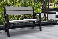 Набор садовой мебели Montero 3 Seater Bench из искусственного ротанга, фото 1