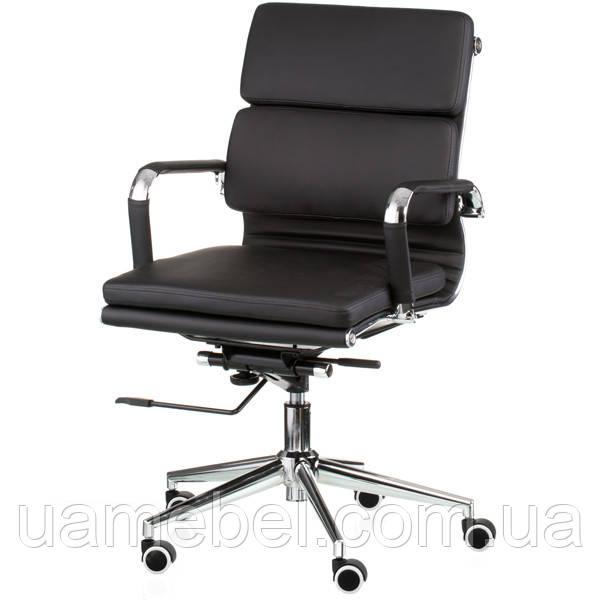 Крісло керівника Solano 3 artleather black E4800